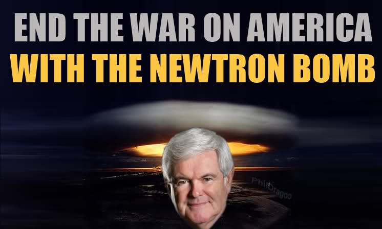 Newtron bomb end war on america