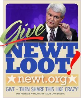 Newt give loot