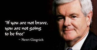 Newt not brave won't be free