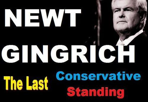 Newt last conservative standing 2