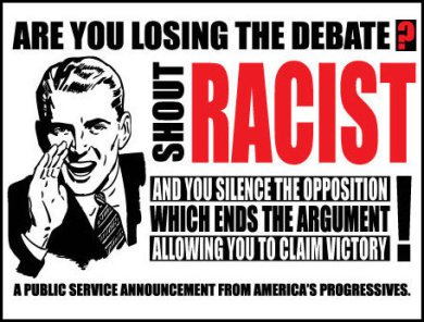 Lunatic-progressives-losing-debate-use-race-card