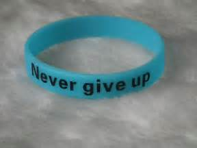 Never give up 9