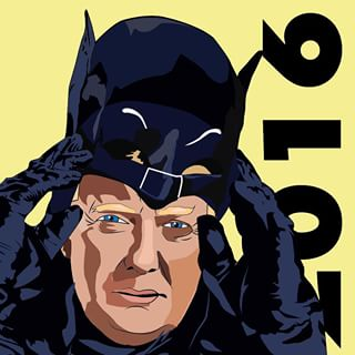 Trump batman