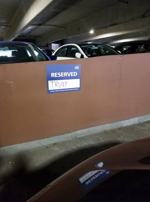 Reserved trump